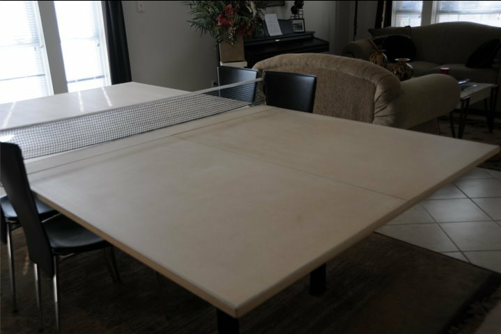 FIX: Convert Dining Table To A Ping Pong Table. Image